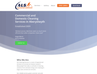 alscleaningservices.co.uk screenshot