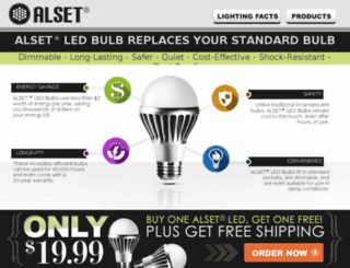 alsetbulb.com screenshot