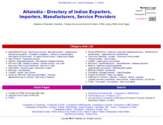 altaindia.com screenshot