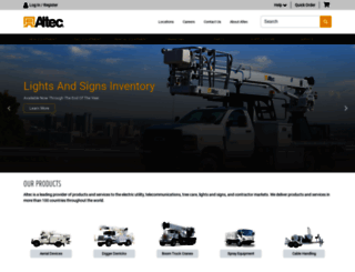 altec.com screenshot