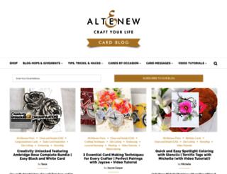 altenewblog.com screenshot