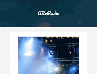 alteradio.pl screenshot