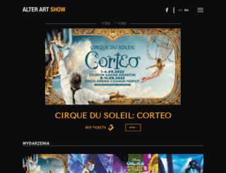 alterartshow.pl screenshot