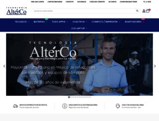altercomx.com screenshot