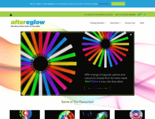 altereglow.co.uk screenshot