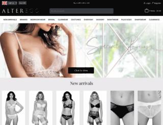 alterego-lingerie.com screenshot