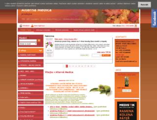 alternamedica.cz screenshot