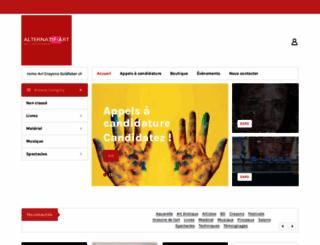 alternatif-art.com screenshot
