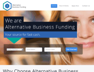 alternativebusinessfunding.com screenshot