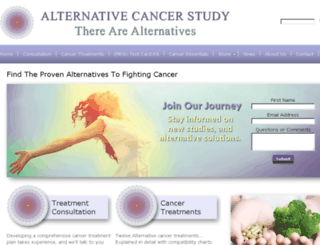 alternativecancer.us screenshot