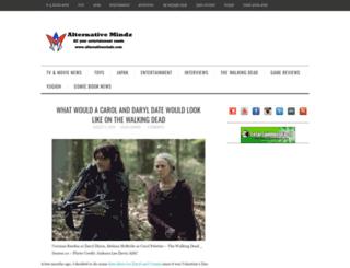 alternativemindz.com screenshot