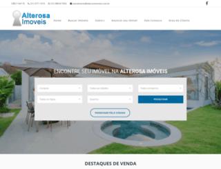 alterosaimoveis.com.br screenshot