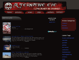 alteye.co.za screenshot