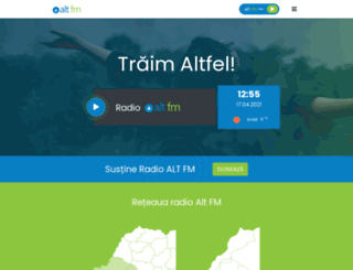 altfm.ro screenshot