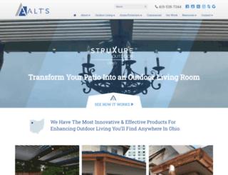 altgutters.com screenshot