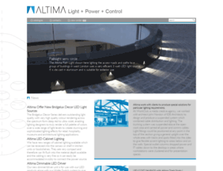 altima.co.uk screenshot