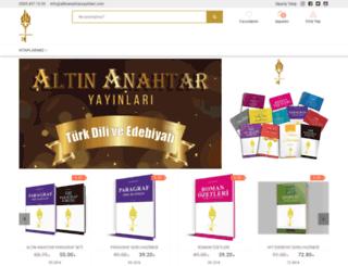 altinanahtaryayinlari.com screenshot