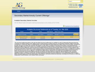 altiumgroup.com screenshot