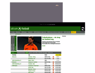 altomfotball.no screenshot