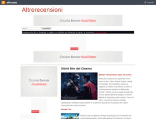 altrerecensioni.altervista.org screenshot