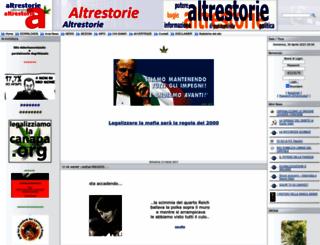 altrestorie.org screenshot