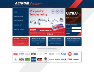 altrom.com screenshot