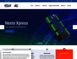 altus.com.br screenshot
