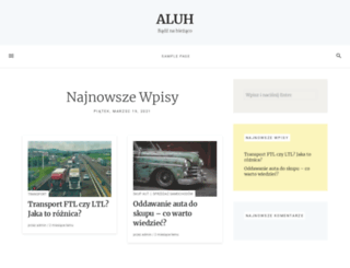 aluh.pl screenshot