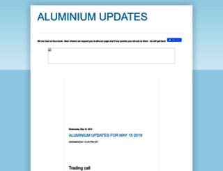 aluminiumupdates.blogspot.in screenshot