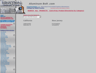 aluminumbolt.com screenshot