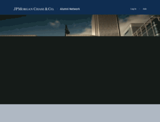 alumni.jpmorgan.com screenshot