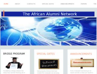 alumninetwork.co.za screenshot
