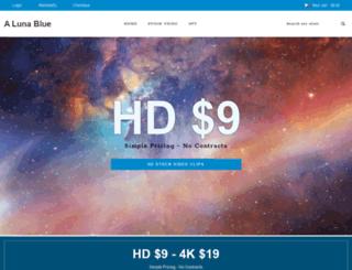 alunablue.com screenshot