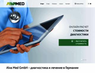 alva-med.de screenshot