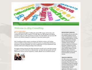 alvyconsulting.com screenshot