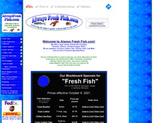 alwaysfreshfish.com screenshot