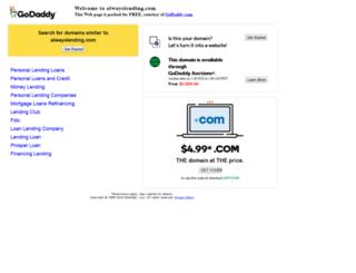 alwayslending.com screenshot