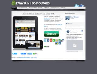 alwaysontechnologies.com screenshot