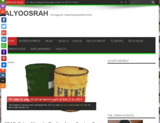 alyoosrah.com screenshot
