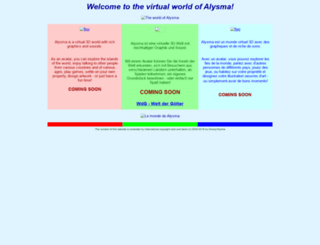 alysma.net screenshot