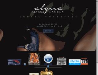 alyssalauren.net screenshot