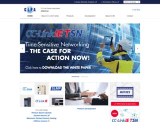 am.cc-link.org screenshot