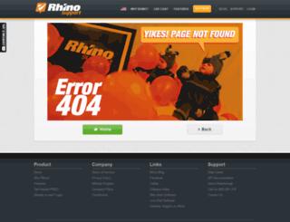 amabella.rhinosupport.com screenshot