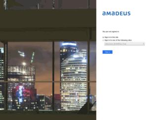 amadeus.mangoapps.com screenshot