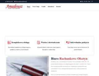 amadeusz.olsztyn.pl screenshot