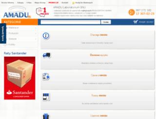 amadu.com.pl screenshot