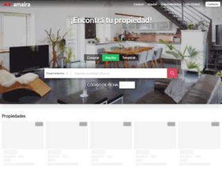 amaira.com.ar screenshot