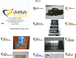 amajoyeriacorporativa.com screenshot