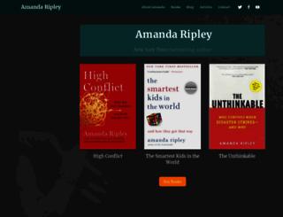 amandaripley.com screenshot