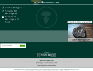 amanitacesarea.com screenshot